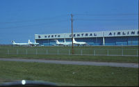 Minneapolis-st Paul Intl/wold-chamberlain Airport (MSP) - North Central hangar. - by GatewayN727