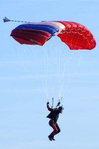 X4HB Airport - Skydivers at Hibaldstow airfield, Lincolnshire - by Chris Hall