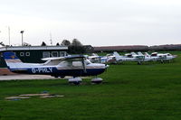 Netherthorpe Airfield - Netherthorpe Airfield, home of the Sheffield Aero Club - by Chris Hall