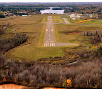 Price County Airport (PBH) - Short final ~ Runway 24 - by Gary Dikkers