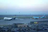 Vienna International Airport, Vienna Austria (LOWW) - evening cargo 747's at LOWW - by Thomas Ranner