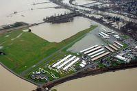Harvey Field Airport (S43) - 2009 Flood View - by NWFlying