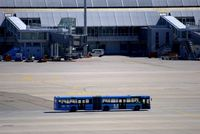 Munich International Airport (Franz Josef Strauß International Airport), Munich Germany (EDDM) - No. 26 of those apron busses in typical Munich blue. - by Holger Zengler