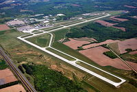 Central Wisconsin Airport (CWA) - CWA ~ Looking from southwest to northeast - by Gary Dikkers