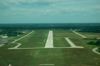Livingston County Spencer J. Hardy Airport (OZW) - Very windy day...... Final Runway 31 - by 78-0001