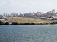 Luis Munoz Marin International Airport (SJU) - The airstrip of San Juan (Puerto Rico)Harbour site - by Willem Goebel