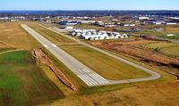 Middleton Municipal - Morey Field Airport (C29) - Runway 10 ~ Middleton Muni - Morey Field - by Gary Dikkers