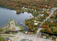 Currier's Seaplane Base (21M) - Currier's Seaplane Base on Moosehead Lake. - by Currier