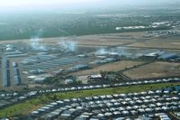 Falcon Fld Airport (FFZ) - Airport seen after our low pass with smoke on from N51KT - by Nick Taylor Photography