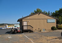 Angwin-parrett Field Airport (2O3) - Pacific Union College aviation program offices and pilot center at Virgil O. Parrett Field, Angwin, CA  - by Steve Nation