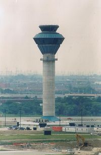 Toronto Pearson International Airport (Toronto/Lester B. Pearson International Airport, Pearson Airport), Toronto, Ontario Canada (CYYZ) - Tower under construction (1999) - by ghans