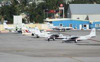 Princess Juliana International Airport, Philipsburg, Sint Maarten Netherlands Antilles (TNCM) - A buzzing day at the Charlie ramp - by Daniel Jef