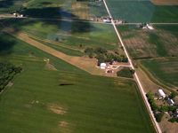 Hanshell Flying Apple Airport (84OH) - Looking West - by Allen M. Schultheiss