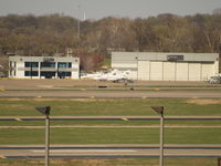 Lambert-st Louis International Airport (STL) - UNKNOWN AT FAR END OF AIRPORT - by Gary Schenaman