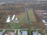 Columbia Airport (4G8) - Looking north up RWY 36 - by Bob Simmermon
