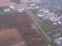 Willard Airport (8G1) - Looking WNW from about 2500' - by Bob Simmermon