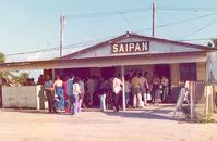 Saipan International Airport (Francisco C. Ada) - Saipan , March '75 - by Henk Geerlings