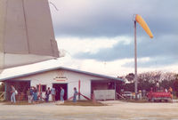 Saipan International Airport (Francisco C. Ada) - Saipan Terminal - Air Side , Mar '75 - by Henk Geerlings