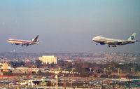 Los Angeles International Airport (LAX) - Final approach - by Henk Geerlings