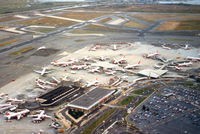 John F Kennedy International Airport (JFK) - View from S-58 Helicopter, New York Helicopter - by Henk Geerlings