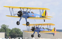 Wittman Regional Airport (OSH) - Formation Departure - by Todd Royer