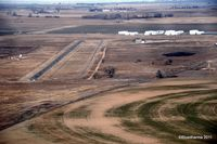 Platte Valley Airpark Airport (18V) - Platte Valley from the South on Final. - by Bluedharma