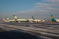 Vienna International Airport, Vienna Austria (LOWW) - Ramp K overview - by Dietmar Schreiber - VAP
