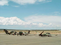 Santa Fe Municipal Airport (SAF) - Jet Warbird Training Center aircraft on the ramp at Santa Fe Municipal Airport - by Zane Adams