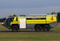 Christchurch International Airport, Christchurch New Zealand (NZCH) - one of the new engines of the Crash / Fire section - by Bill Mallinson