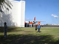 Kalaeloa (john Rodgers Field) Airport (JRF) - CGAS Barbers Point Hangar....1 Coral Sea Road....Kalaeloa Airport.  pic was taken prior to memorial services for HH65 Dolphin CG 6505's crew. Tom Nelson, Andy Wischmier, Dave Skimins, Josh Nichols were all KIA.   - by Ewa Marine