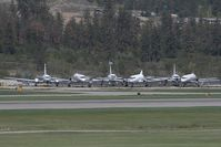Kelowna International Airport - Overview of the boneyard in Kelowna - by Andy Graf-VAP
