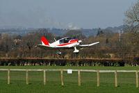 Lashenden/Headcorn Airport - LOOKING ACROSS THE RUNWAY  - by Martin Browne