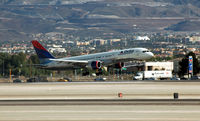 Mc Carran International Airport (LAS) - Delta flight landing McCarran - by John Little