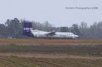 Kinston Regional Jetport At Stallings Fld Airport (ISO) - Possible a Fokker that was once FedEx - by J.B. Barbour