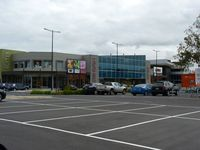 Essendon Airport - Essendon Fields Shopping Centre in the middle of the Essendon Airport car park. - by red750