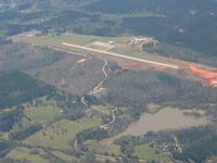 Roosevelt Memorial Airport (5A9) - Looking SW from 3000' - by Bob Simmermon