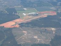 Marion County Airport (82A) - Looking west from 3000' - by Bob Simmermon