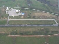 Madison Airport (I39) - Looking east from 3000' - by Bob Simmermon