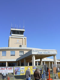 Tyler Pounds Regional Airport (TYR) - Tyler Control Tower and old terminal building.  - by Zane Adams