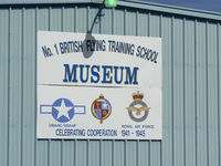 Terrell Municipal Airport (TRL) - Museum at Terrell, TX  - WWII training base.  - by Zane Adams