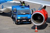 Tegel International Airport (closing in 2011), Berlin Germany (EDDT) - Fueling at TXL - by Holger Zengler