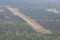Pinebloom Plantation Airport (GA14) - Looking west from 3000' - by Bob Simmermon