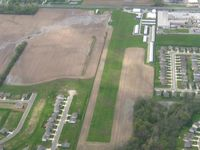 Pope Field Airport (GFD) - Looking south from 3000' - by Bob Simmermon