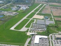 Greenwood Municipal Airport (HFY) - Looking south - by Bob Simmermon