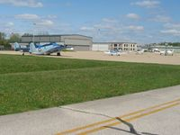 Greenwood Municipal Airport (HFY) - Transient ramp and FBO facilities. - by Bob Simmermon