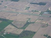 New Castle-henry Co Municipal Airport (UWL) - Looking S from 5000' - by Bob Simmermon