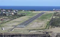 F.D. Roosevelt Airport – Sint Eustatius, Netherlands Antilles,  Netherlands Antilles (TNCE) - The runway at St Statius  - by Daniel Jef