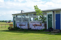 Lashenden/Headcorn Airport, Maidstone, England United Kingdom (EGKH) - The TIGER CLUB Hut at Headcorn. - by Martin Browne
