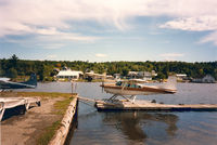 Greenville Seaplane Base (52B) - Seaplane Fly In , Moosehead Lake. In the background DC-3 on floats - by Henk Geerlings