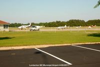 Lumberton Regional Airport (LBT) - Airport ramp - by J.G. Handelman